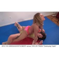 """2012.135 CARISSA MONTGOMERY versus TAYLOR TRASH """"Destroying Taylor"""""""