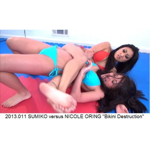 "2013.011 SUMIKO versus NICOLE ORING ""Bikini Destruction"""