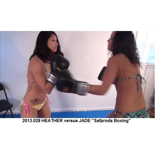 "2013.028 HEATHER versus JADE ""Safprods Boxing"""