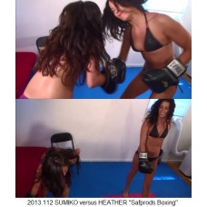 "2013.112 SUMIKO versus HEATHER ""Safprods Boxing"""