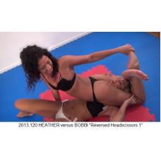 "2013.120 HEATHER versus BOBBI ""Reversed Headscissors 1"""