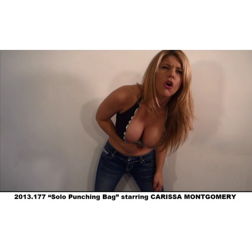 "2013.177 ""Solo Punching Bag"" starring CARISSA MONTGOMERY"