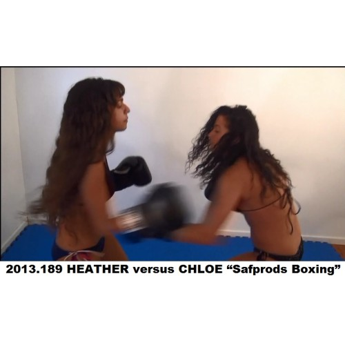 "2013.189 HEATHER versus CHLOE ""Safprods Boxing"""