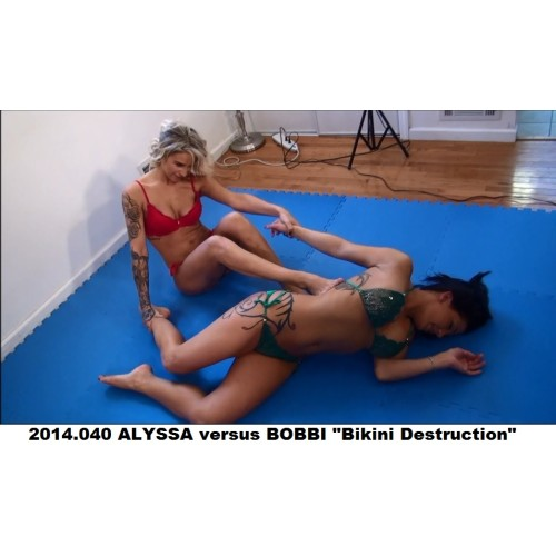 "2014.040 ALYSSA versus BOBBI ""Bikini Destruction"""