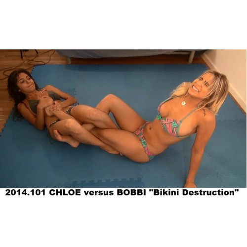 "2014.101 CHLOE versus BOBBI ""Bikini Destruction"""