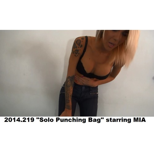 "2014.219 ""Solo Punching Bag"" starring MIA"
