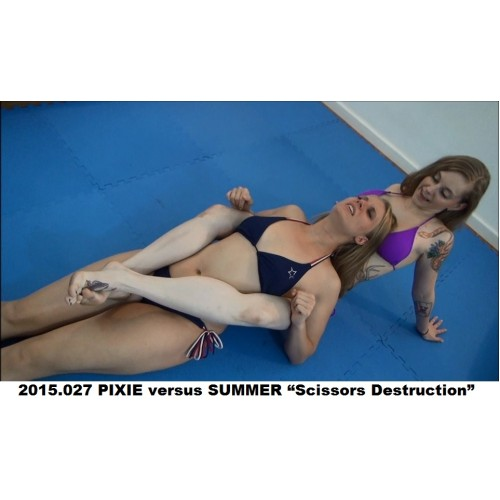 "2015.027 PIXIE versus SUMMER ""Scissors Destruction"""