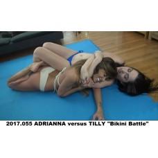 """2017.055 ADRIANNA versus TILLY """"Bikini Battle"""""""